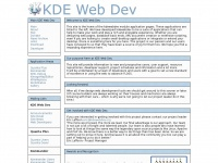 Kdewebdev.org - Account Suspended