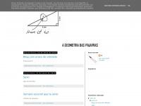Ageometriadaspalavras.blogspot.com - A geometria das palavras
