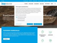Knaufinsulation.fi - Hemsida