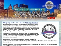 Windycityrooter.com - Chicago Plumber   Windy City Rooter