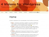 4visions.nl - Home - 4 Visions for Wordpress