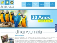 aguavivaveterinaria.com.br