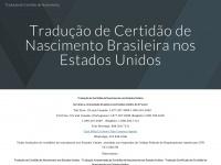 Tradução de Certidão de Nascimento - Certified Portuguese (Brazil) Birth Certificate Translation, Certified Brazil (Portuguese) Birth Certificate Translation - Home