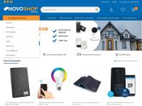 NovoShop - Antenas, receptores, conversor digital, celulares e muito mais