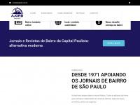 Ajorb.com.br - AJORB - Associação dos jornais de bairro -site atual