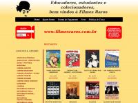Filmes Raros - Desde 1990 comercializamos filmes raros em vhs e dvd. E-mail: filmesraros@filmesraros.com.br
