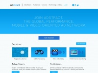 Adstract.com - Adstract | Mobile, Video and Performance Advertising