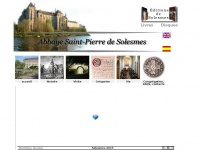 Abbayedesolesmes.fr - Abbaye de Solesmes - communauté de moines bénédictins - chant grégorien