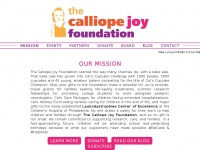 Thecalliopejoyfoundation.org - TCJF   Helping fight Leukodystrophy one cupcake at a time