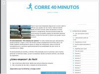 corre40minutos.com