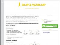 simplewarmup.com