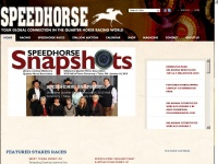 Speedhorse.com - Speedhorse Magazine - Your Global Connection to Quarter Horse Racing