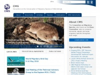 Cms.int - CMS | Convention on the Conservation of Migratory Species of Wild Animals