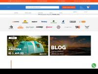 Loja da Nautika Lazer com artigos de camping, aventura, pesca e tática
