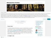 Ahopeful.wordpress.com - Retroactive Fiction | Stories scribbled on screens