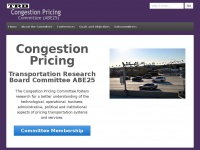 Trb-pricing.org - TRB Congestion Pricing Committee – Standing Committee ABE25 of the Transportation Research Board