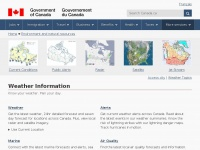 Weather.gc.ca - Weather Information - Environment Canada
