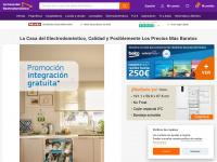 Comprar ELECTRODOMÉSTICOS BARATOS en lacasadelelectrodomestico.com