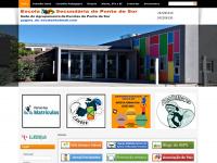 Agrupamento de Escolas de Ponte de Sor - Entrada
