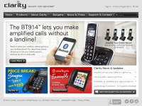 Clarityproducts.com - Clarity® – Amplify Life™ – Phone Technology for the Hard of Hearing