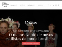 Casadecriadores.com.br - Casa de Criadores - Maior evento de novos estilistas do Brasil