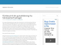98981010.dk - 98981010 – Just another WordPress site