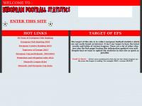 European-football-statistics.co.uk - Welcome to European Football Statistics