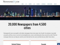 Newspapers24.com - 20000 Newspapers and online news sites from the world major cities.