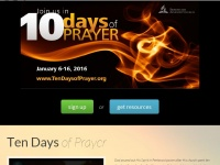 Tendaysofprayer.org - Ten Days of Prayer