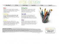 Hyde-design.co.uk - Hyde Design - Web Design & Development in Hitchin, Herts