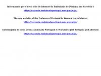 Embaixada de Portugal em Varsóvia | Ambasada Portugalii w Warszawie