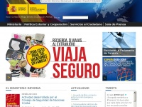 Exteriores.gob.es - Páginas - Ministerio de Asuntos Exteriores y de Cooperación