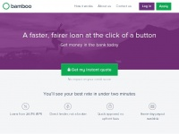 Bambooloans.com - Bamboo Loans | Guarantor Loans | Personal Unsecured Loans