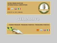 Terraolivo.org - TERRAOLIVO - Extra Virgen Olive Oil International Competition