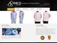 Paco Uniformes - importação, exportação, fabricação e comercialização de confecções, tecidos, armarinhos e outros gêneros de vestuários, Manaus, Amazonas.