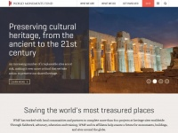 Wmf.org - World Monuments Fund | A New York-based non-profit organization dedicated to preserving and protecting endangered ancient and historic sites around the