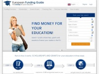 European-funding-guide.eu - Find money for your education among 12, 320 scholarships, grants and awards | EFG - European Funding Guide