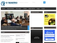 Jornal O Registro | Portal do Maior Jornal do Sul de Minas e Região Bragantina