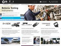 BTI | Bolonia Testing Instruments, Instrumentação, equipamentos e sistemas