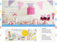 Babyshowerideas4u.com - Baby Shower Ideas and Shops - Themes - Favors - FREE Printables