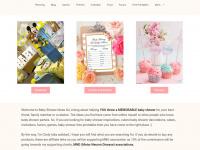 Babyshowerideas4u.com - Baby Shower Ideas and Shops - Themes - Favors - FREE Printables
