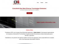 Alphaquattro.com.br - Alpha Quattro Informática