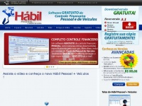 NOVO Hábil Pessoal + Veículos :: Software GRATUITO de Controle Financeiro Pessoal e de Veículos (Download Grátis)