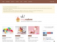 Ohcupcakes.net - Inspiration and original ideas of cupcakes and muffins recipes, utensils, furniture, books and places to taste them