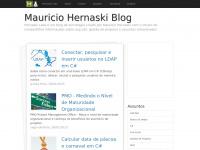 Mauricio Hernaski Blog