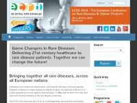 Rare-diseases.eu - ECRD - the European Conference on Rare Diseases & Orphan Products