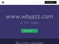 This domain (www.wbjazz.com) is for sale.