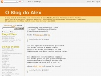 O Blog do Alex