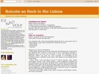 Boicote ao Rock in Rio Lisboa