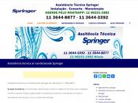 Springer Assistência Ar-condicionado São Paulo | 11 3427-6065